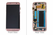 Genuine Samsung Galaxy S7 Edge G935 Pink Gold LCD Screen & Digitizer Complete -