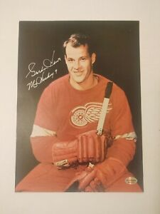 """GORDIE HOWE """"MR. HOCKEY"""" SIGNED 8""""X 10"""" DC SPORTS AUTHENTICATED"""