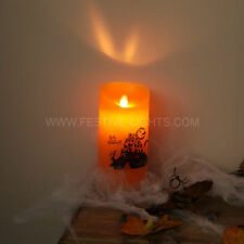 Smokeless Orange Candles & Tea Lights