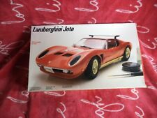 FUJIMI TESTORS 1/20 Big scale LAMBORGHINI JOTA Kit #420 SEMI USED