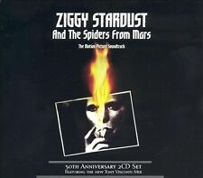 David Bowie Ziggy Stardust Motion Picture 30th Anniv Live 2 CD RED DISCS NEW MIX
