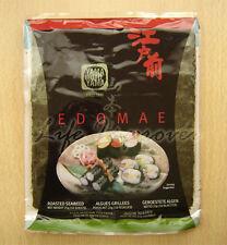 Leckere Japanische Sushi Zubereitungs Zutaten Gerösteter Seetang Nori 10 Blätter