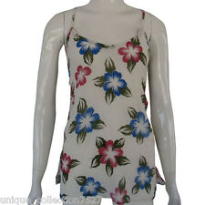 Nepalese Handmade Floral Print Funky Festival Light Cotton Summer Top UC-10F