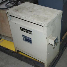 General Electric 30 KVA Dry Type Transformer Indoor/Out (Inv.17109)