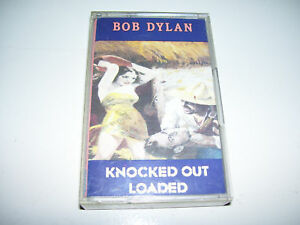 Bob Dylan - Knocked Out Loaded  RARE DUTCH CASSETTE