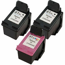 3pk 61XL (2B+1C) HY Ink Cartridge for HP DeskJet 1055 2050 3050 Printer