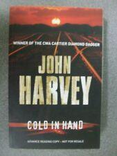 COLD IN HAND by JOHN HARVEY  P/B **ADVANCED READING COPY **  2008  Pub.HEINWMANN