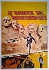 Filmposter USA 68x98: Der unsichtbare Dritte - NORTH BY NORTHWEST  [1959]