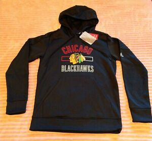 *NEW* WOMEN'S ADIDAS CHICAGO BLACKHAWKS HOODIE - SIZE MEDIUM - NEW WITH TAGS