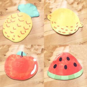 Fruit Mat Non-slip Doormat Floor Mats For Living Rooms Bathroom kitchen Indoor J