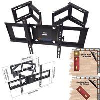Full Motion 3D LCD LED Plasma Corner TV Wall Mount 37 42 47 50 51 54 60 65 70 80