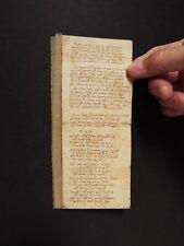 Phillip Henry - Father of Matthew Henry - Handwritten Manuscript - Circa 1650