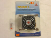 CoolMax CM-40306 3-Pin Socket 478 Heatsink & Fan & Silicon Pentium 4 CPU Vintage