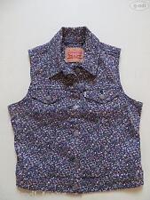 Levi's® Jeans Weste Jeansweste, Gr. M, NEU !! cooler colored Denim ! UNIKAT !!
