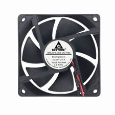 1pcs 80mm x 80mm x 20mm 8cm 24V 2Pin DC Brushless PC Computer Case Cooling Fan