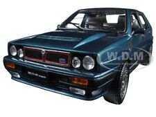 1989 LANCIA DELTA HF INTEGRALE 16V BLUE 1/18 DIECAST CAR MODEL BY SUNSTAR 3152