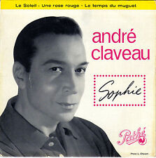 ANDRE CLAVEAU SOPHIE FRENCH ORIG EP MARTIAL SOLAL