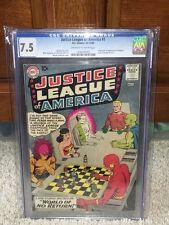 Justice League of America #1 CGC 7.5 DC 1960 Brave Bold #28! F4 121 cm clean