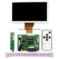 "7"" for Raspberry Pi LCD Screen Display Monitor Driver Board HDMI+VGA+2AV 800*480"