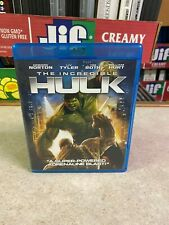 LIGHTLY USED (Played Once) BLU-RAY DVD Disc Marvel THE INCREDIBLE HULK