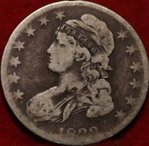 1833 Philadelphia Mint Silver Capped Bust Half Dollar