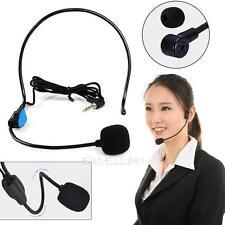Wired Hands Free Headset Microphone Mic system Megaphone Speaker Teacher