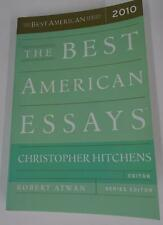 Best American Essays 2010 Christopher Hitchens Robert Atwan Garry Wills Sedaris