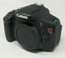 Canon EOS Rebel T3i / EOS 600D 18.0MP DSLR - Black (Body Only) - Needs Repair