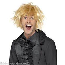Men's 90's Harry Dumb & Dumber Blonde Surfer Wig Fancy Dress Film Comedy Hair