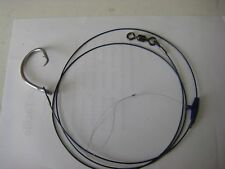 castable shark rig 1.5  mtr 120kg with 16/0 s/s circle hook