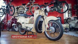 Moto Guzzi Galletto 1958 Motorrad Oldtimer Roller Scooter Retro Vintage Italia