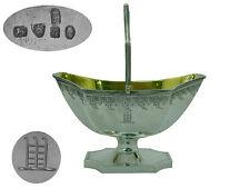 George III Silver Sugar Basket 1796