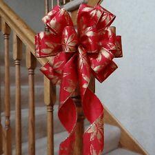 "10 yards Snowflake Grosgrain 3//8/"" Christmas Ribbon//Craft//Holiday//Gift RYC-26-29"