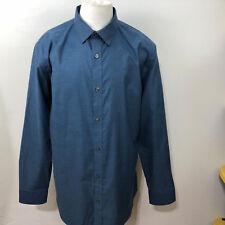 Dress Shirts Men's Clothing Tommy Hilfiger Hombre Ajustado No Necesita Planchado Con Botones Camisa Without Return