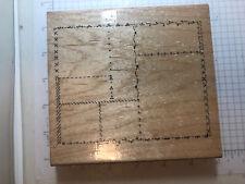Ctmh wood rubber stamps Quilt Sampler Scrapbook Sampler