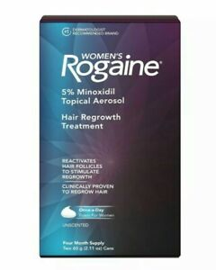 Women's Rogaine  Hair Regrowth Treatment Foam 4 Month Supply Exp 2/21 Free ship!