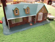 NMINT VINTAGE Life Like Kramer House Slot Car Train Track Set Building