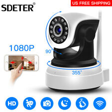 Wireless Pan Tilt 1080P Security Network CCTV IP Camera Night Vision IR WIFI Cam