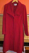 J Taylor Debenhams Red Trench Coat RRP £150