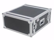"4 Space 20"" Deep Shock Mount ATA AMP Rack Road Case by OSP"