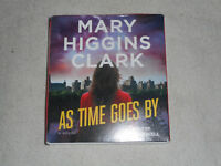 As Time Goes By by Mary Higgins Clark Audiobook on Compact Disc