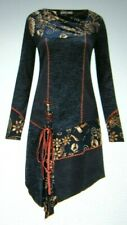 Joe Browns women`s Regal Knit Tunic size 14 BNWT!!! Navy/floral areas long sleev