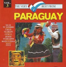 The Very Best From Paraguay CD 3 - No Se Tu Nombre, Cielo Guarani, Cunu-u, Dedos