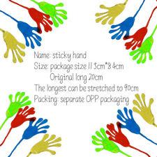 1pcs Kids Sticky Hands Palm Party Favor Toys Novelties Prizes Birthday Gift