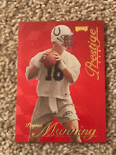 1998 Playoff Prestige RED Peyton Manning RC Rookie Card Ungraded