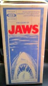 Vintage Jaws The Game - 1975 by Ideal - Original Box - Very Fine Condition.