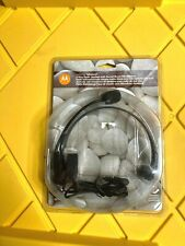 MOTOROLA Talkabout 53725 Headset with Swivel Boom Microphone 2.5mm Jack ~ NEW