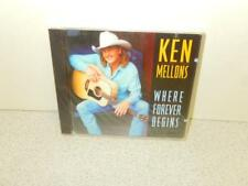 WHERE FOREVER BEGINS - KEN MELLONS - EPIC RECORDS -10 TRACKS -  NEW