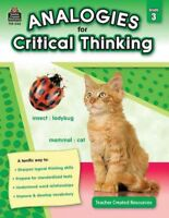 Analogies for Critical Thinking : Grade 3, Paperback by Foster, Ruth; Migliac...