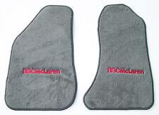 ASC McLaren medium Gray Floor Mats carpet